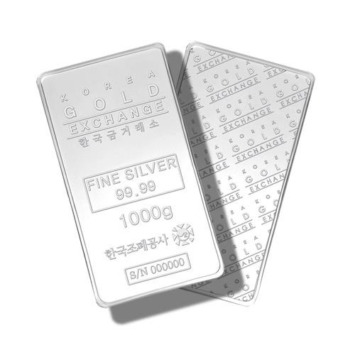 한국조폐공사 품질인증 1,000g 실버바