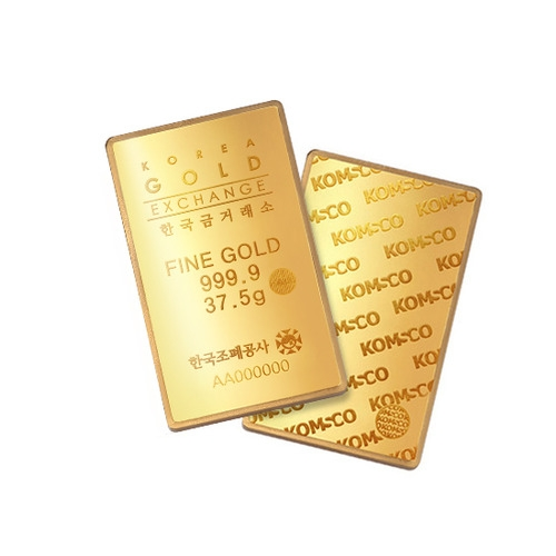 한국조폐공사 품질인증 37.5g 골드바