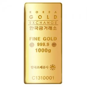 한국조폐공사 품질인증 1,000g골드바(구매시재고문의)