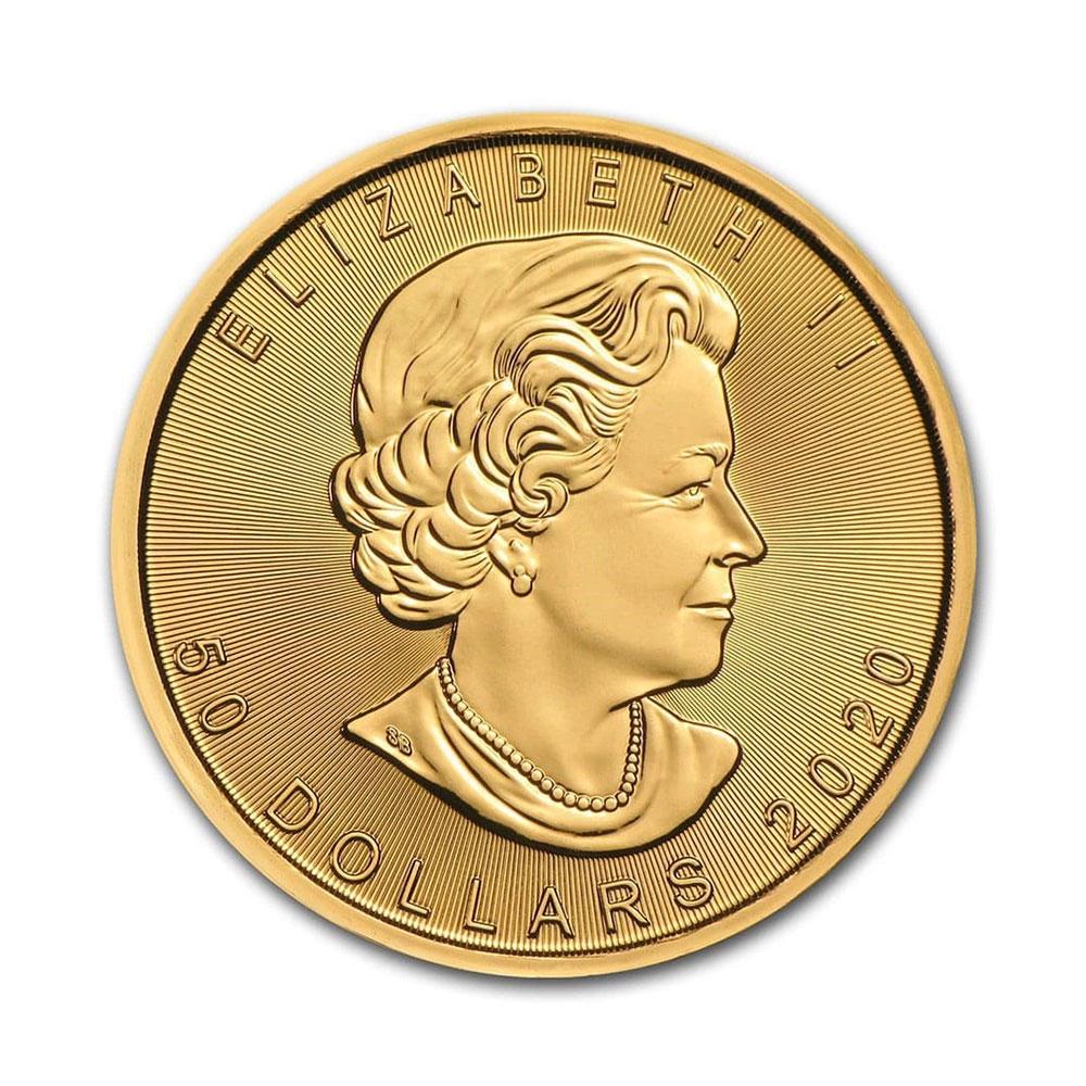 2020 1온스 골드 메이플 리프 불리온 주화(Coin) 50$(CAD)