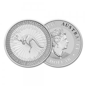 2020 1온스 실버 캥거루 불리온 주화(Coin) 1$(AUD) 25ea