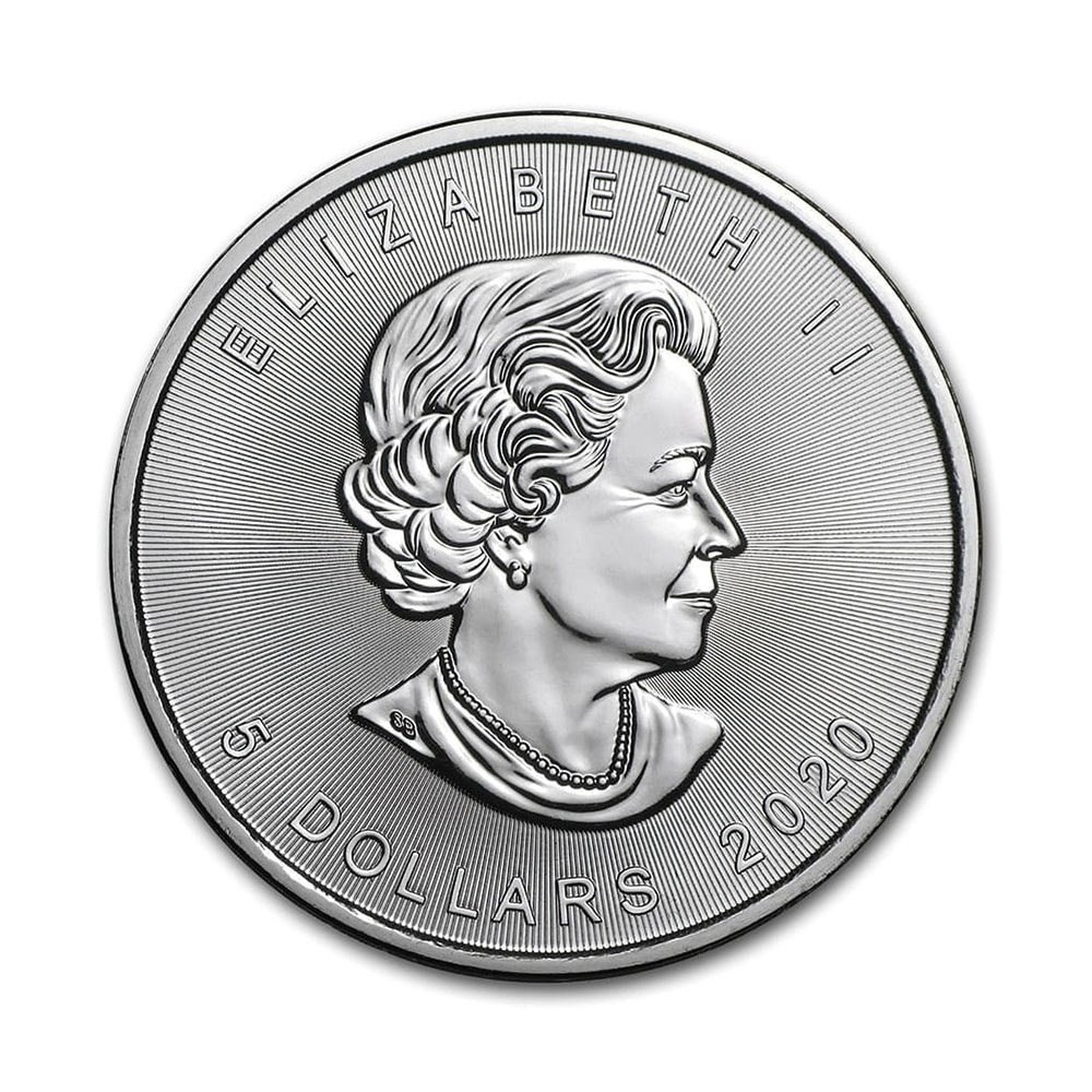 2020 1온스 실버 메이플 불리온 주화(Coin) 5$(CAD) 25ea