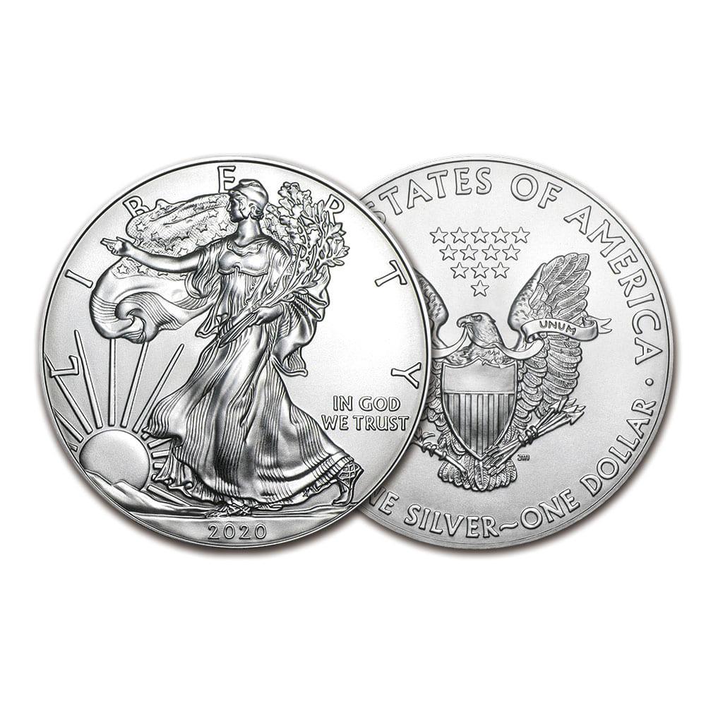 2020 1온스 실버 이글 불리온 주화(Coin) 1$(USD) 20ea
