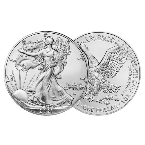 2021 1온스 실버 이글 불리온 주화(Coin) 1$(USD) 20ea