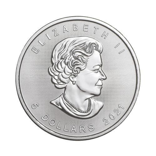 2021 1온스 실버 메이플 불리온 주화(Coin) 5$(CAD) 25ea