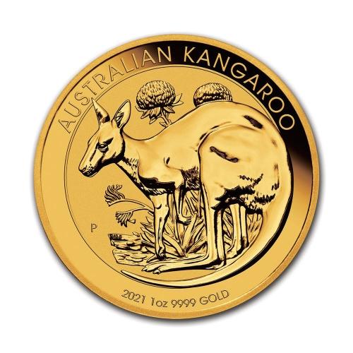 2021 1온스 골드 캥거루 불리온 주화(Coin) 100$(AUD)